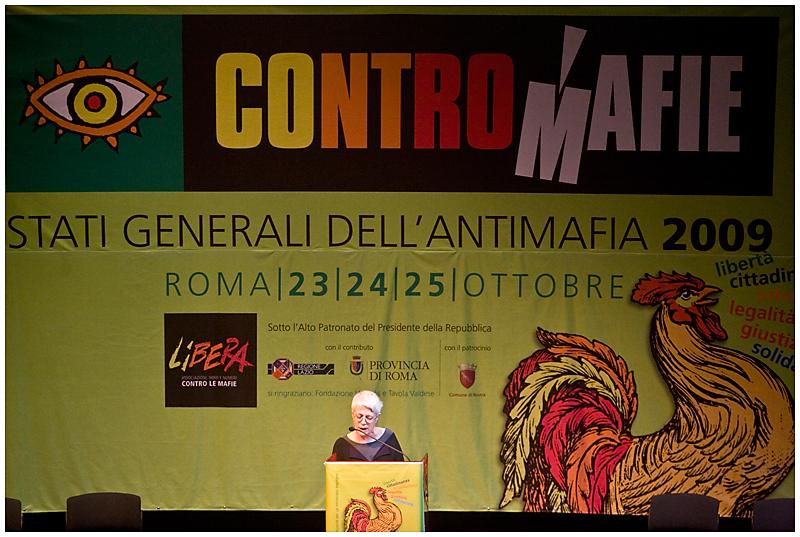 Barbara Spinelli Contromafie 2009